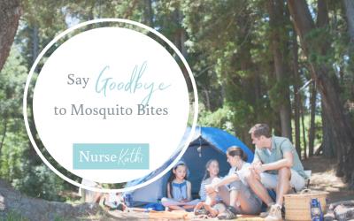 Good-bye mosquito bites!