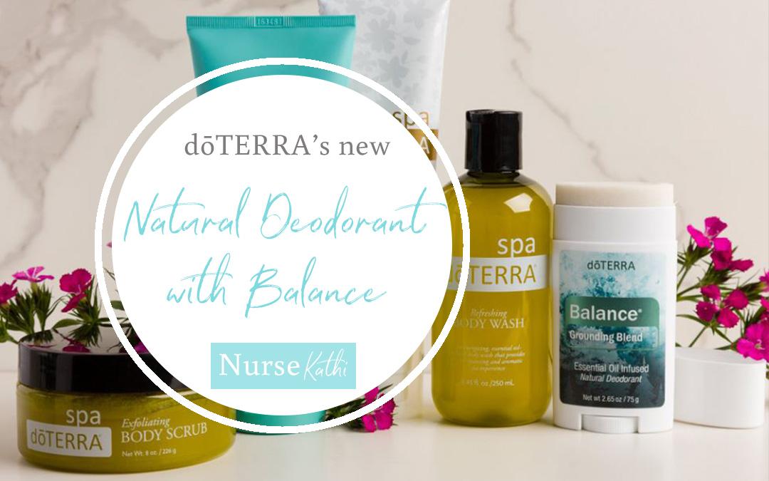 NEW dōTERRA Balance Deodorant