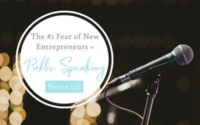 The #1 Fear of New Entrepreneurs = Public Speaking