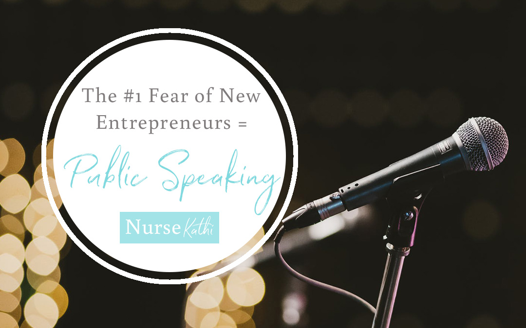 The #1 Fear of New Entrepreneurs = Public Speaking