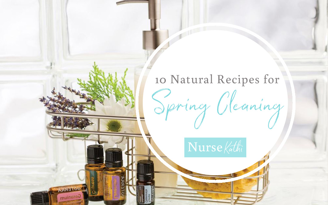 10 Natural Recipes for Spring Cleaning!